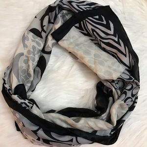 Silk Coach scarf